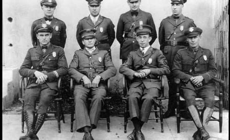 These police officers were members of extremist groups on